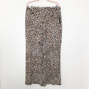 NWT Robert Louis Jaguar Wide Leg Pants XL #4451